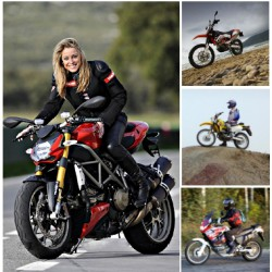 Урок катания на мотоцикле
