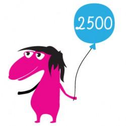 Дарёный Конь (номинал на 2500 руб.)