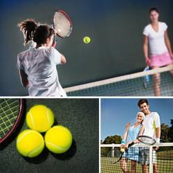 Урок большого тенниса для двоих