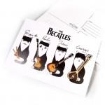 """Открытка """"Котики The Becatles"""""""