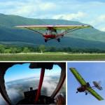 полёт на сверхлёгком самолёте Flylab Tucano