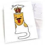 """Открытка """"Murcury"""""""