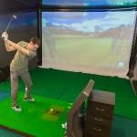 Урок игры в гольф