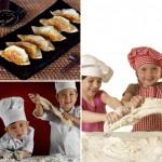 Детский мастер-класс японской кухни