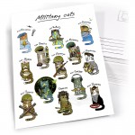 "Открытка ""Military Cats"""