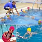 Урок плавания для детей