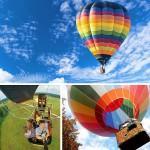Полет на воздушном шаре для компании