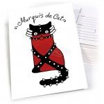 """Открытка """"Кот Murquis de Cat"""""""